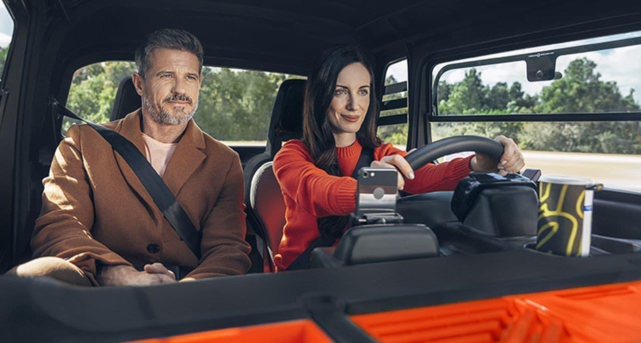 シトロエンのEV「Ami」にデリバリー仕様車「My Ami Cargo」登場!助手席を260L容量のストレージに