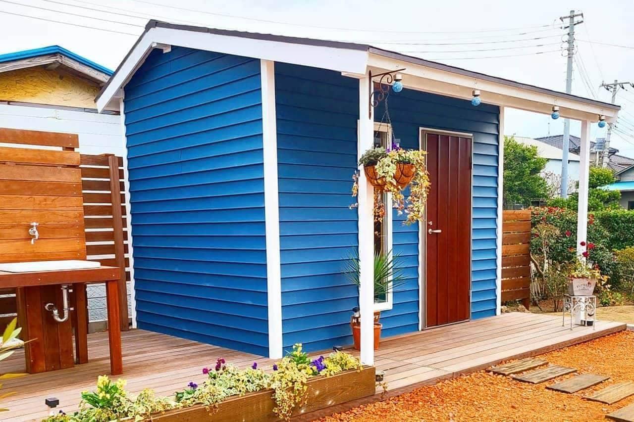テレワークにも? 庭に設置する「DIY小屋キット TINY」78万円から