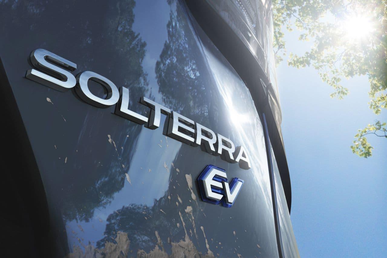 SUBARUが来年新型電動SUVを発売 トヨタと共同開発したプラットフォームを採用し名称は「SOLTERRA(ソルテラ)」