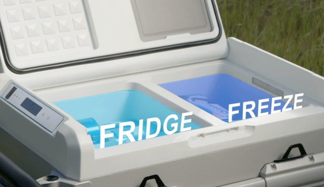冷凍庫付きソーラークーラーボックスGoSun「Chillest」