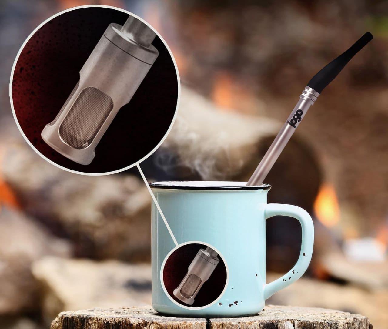 コーヒー抽出ストローJoGo