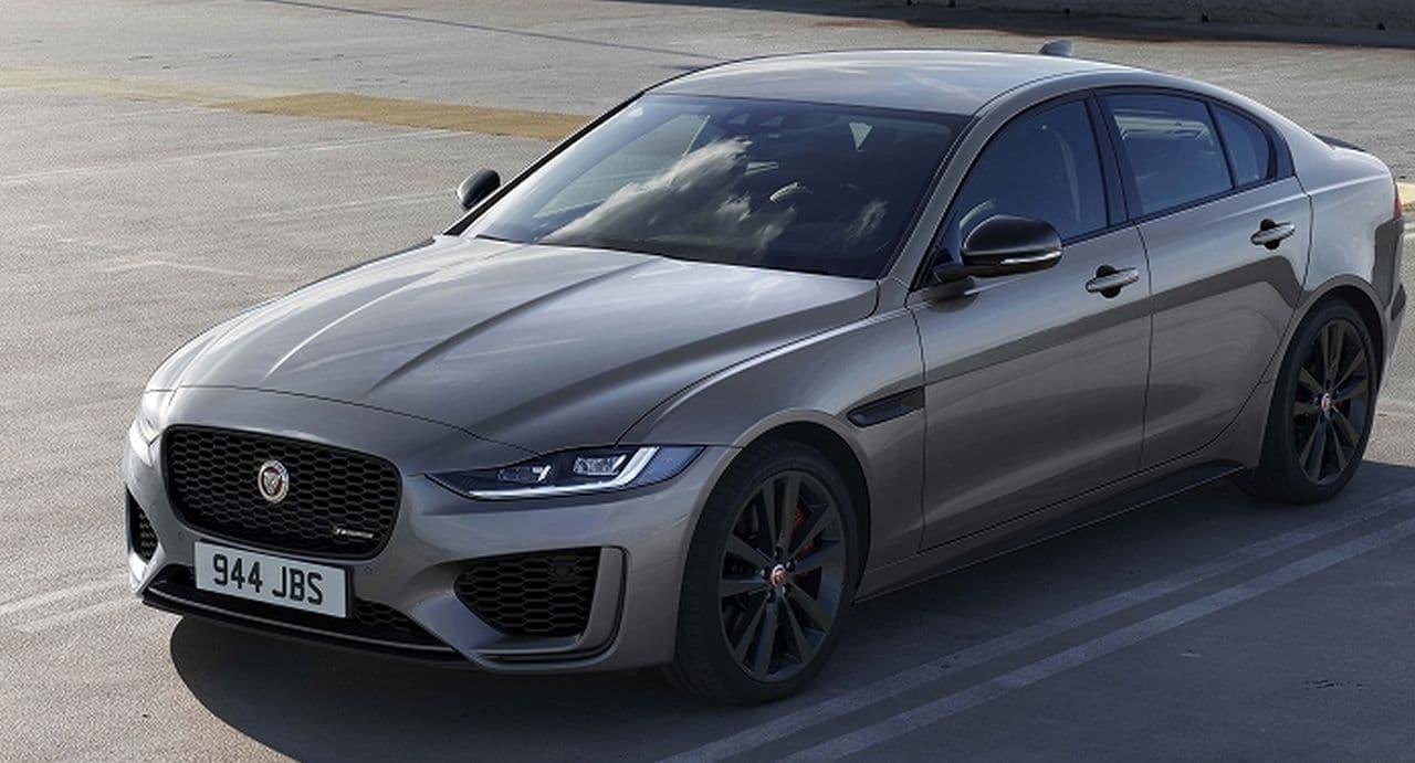 ジャガー「XE」に2021年モデル - 外観をブラックで引き締めた新グレード「R-DYNAMIC BLACK」追加