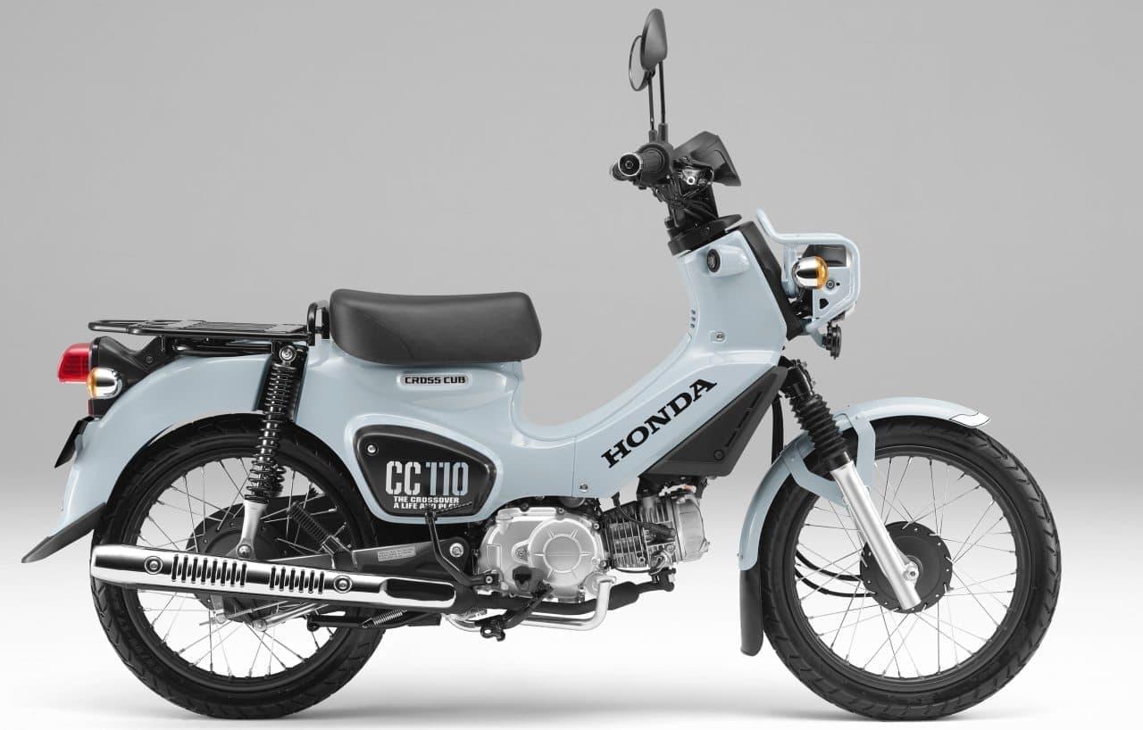 ホンダ「クロスカブ110」に台数限定カラー「プコブルー」