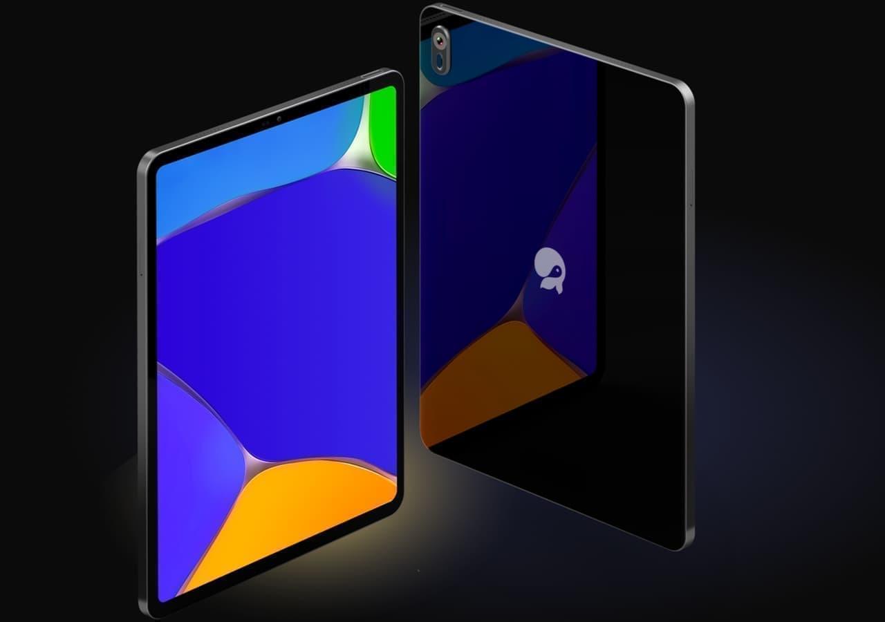iPadそっくりなLinuxタブレット「JingPad A1」クラファン6月15日スタート!