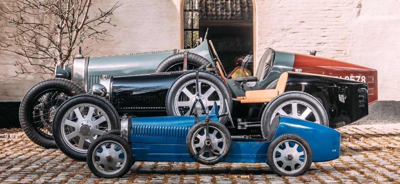 ブガッティ設立110周年を祝う小さなロードスター「Baby II」出荷開始