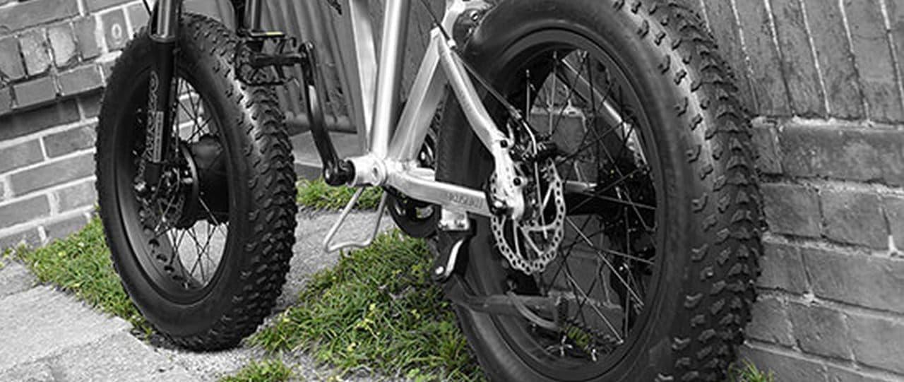 電動アシストファットバイク「グランビート」発売