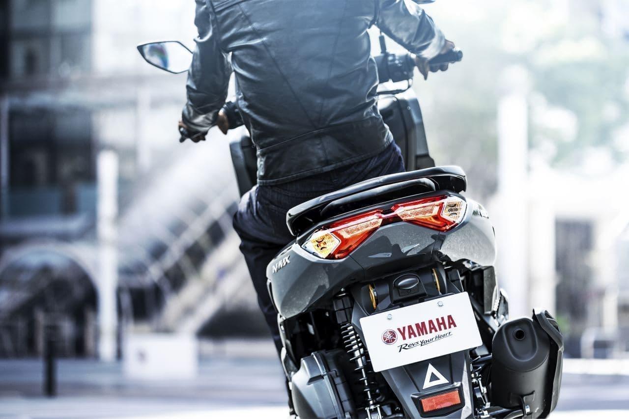 ヤマハ「NMAX ABS」2021年モデル発売