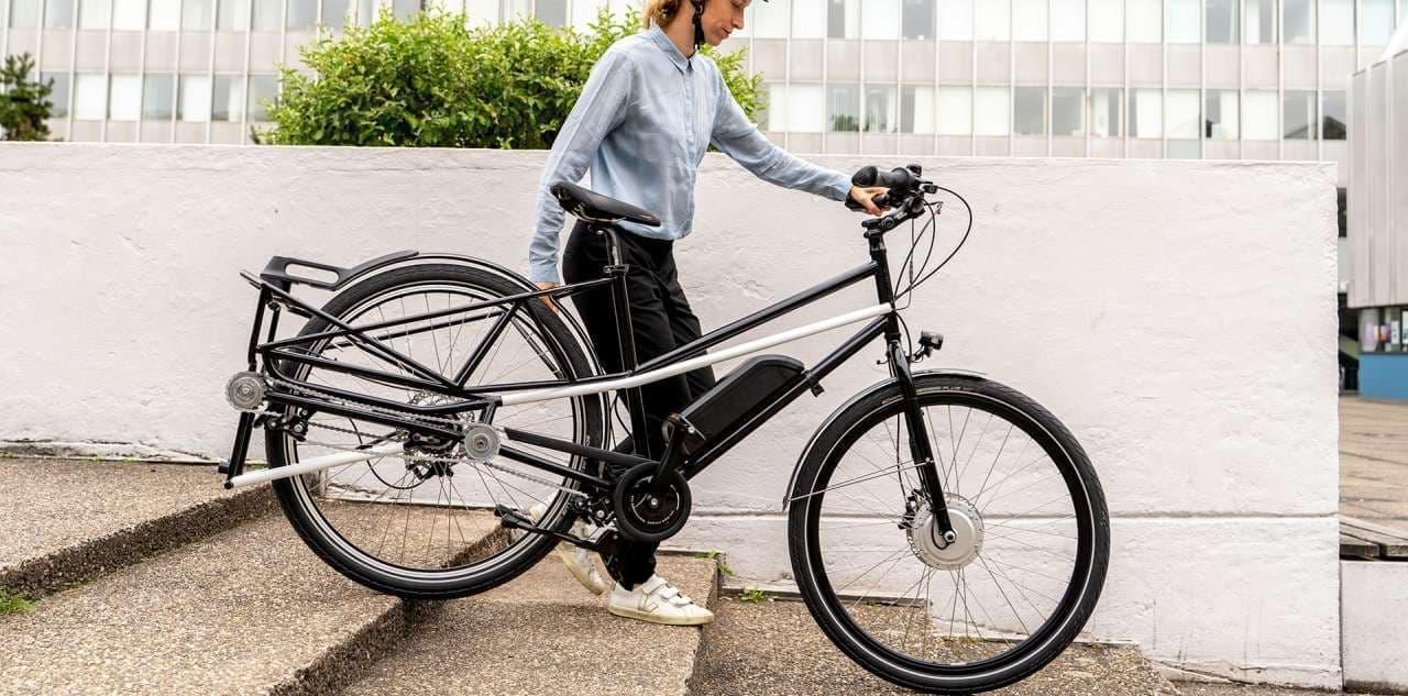 必要なときだけカーゴバイクになる「CONVERCYCLE BIKE」
