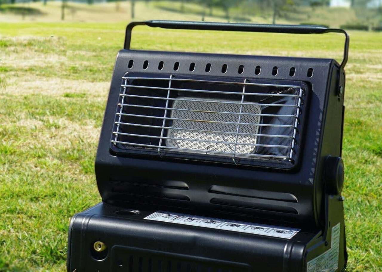 カセットガスで暖房&調理 キャンプに便利なアウトドアヒーター CAMPFIREに登場