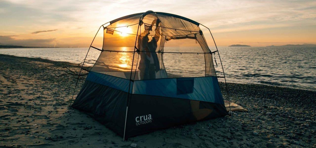 ルーフトップテントが快適に…Cruaが開発した「AER」なら朝までぐっすり眠れる?