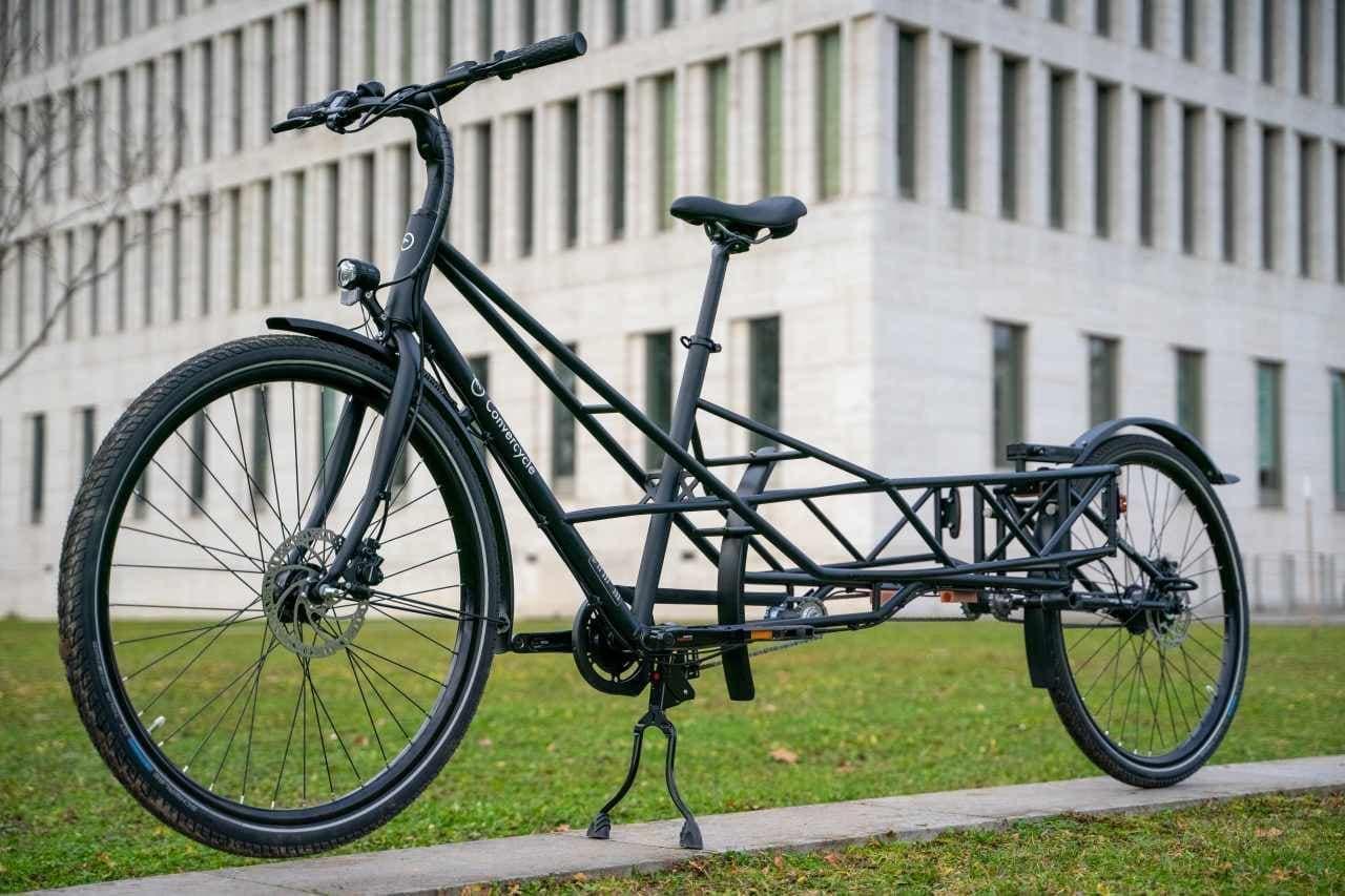 convercycle bikeカーゴバイク状態