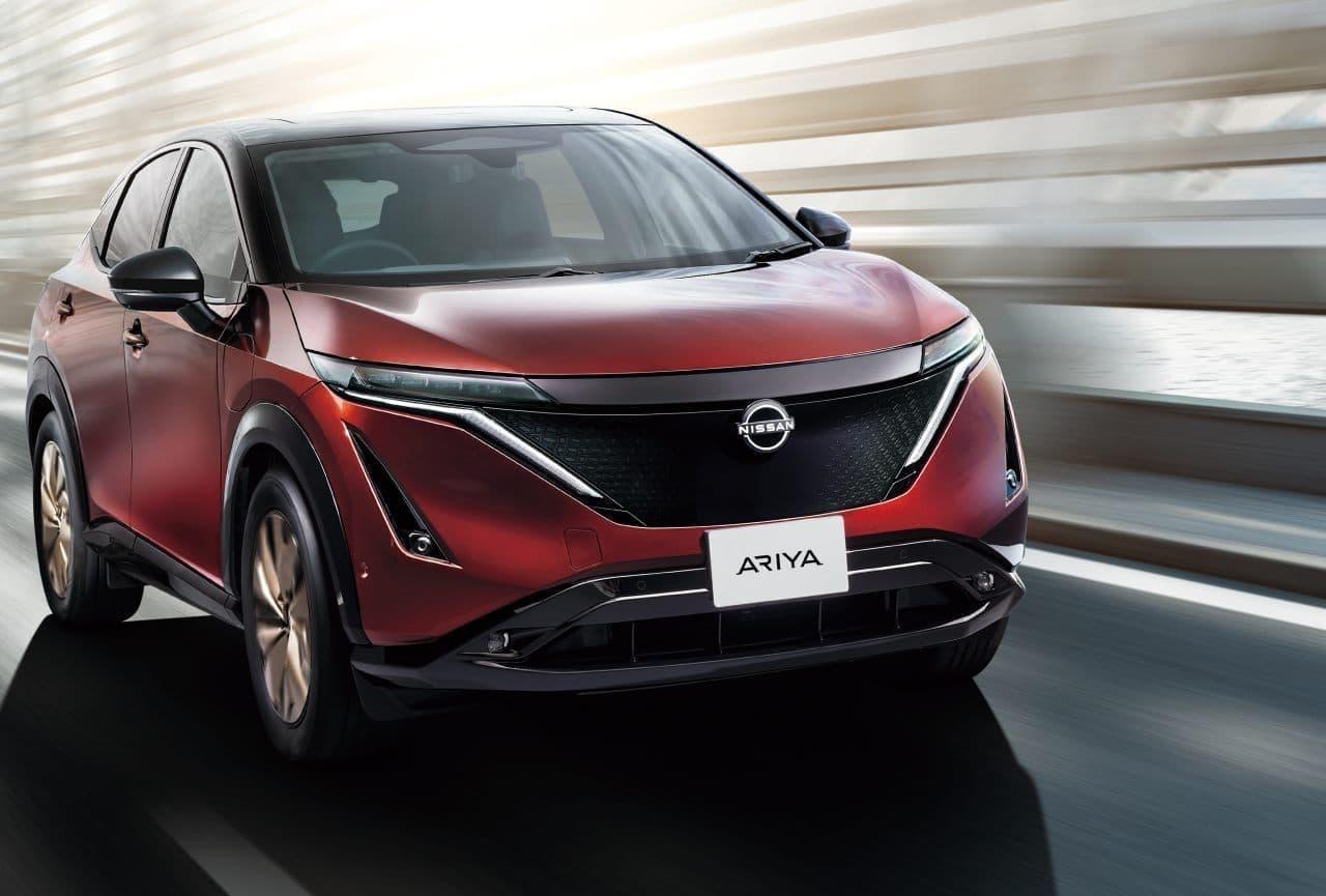 日産が「アリア」の日本専用特別限定車「アリア limited」の予約注文を開始