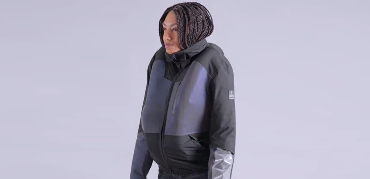 自転車用のエアバッグジャケット「CIRRUS」 0.08秒で膨らむ&繰り返し使える