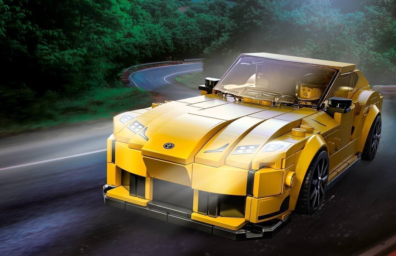 トヨタ スープラ35周年記念商品「レゴ スピードチャンピオン トヨタ GRスープラ」