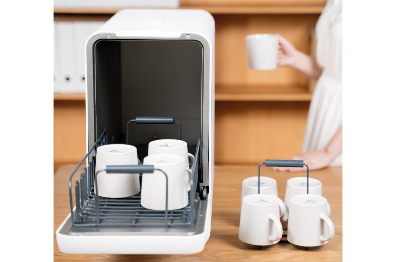 持ち運びできる食洗器「Capsule」