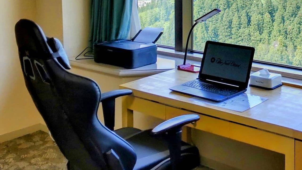 NASPAニューオータニワーケーションプラン「青空オフィス」
