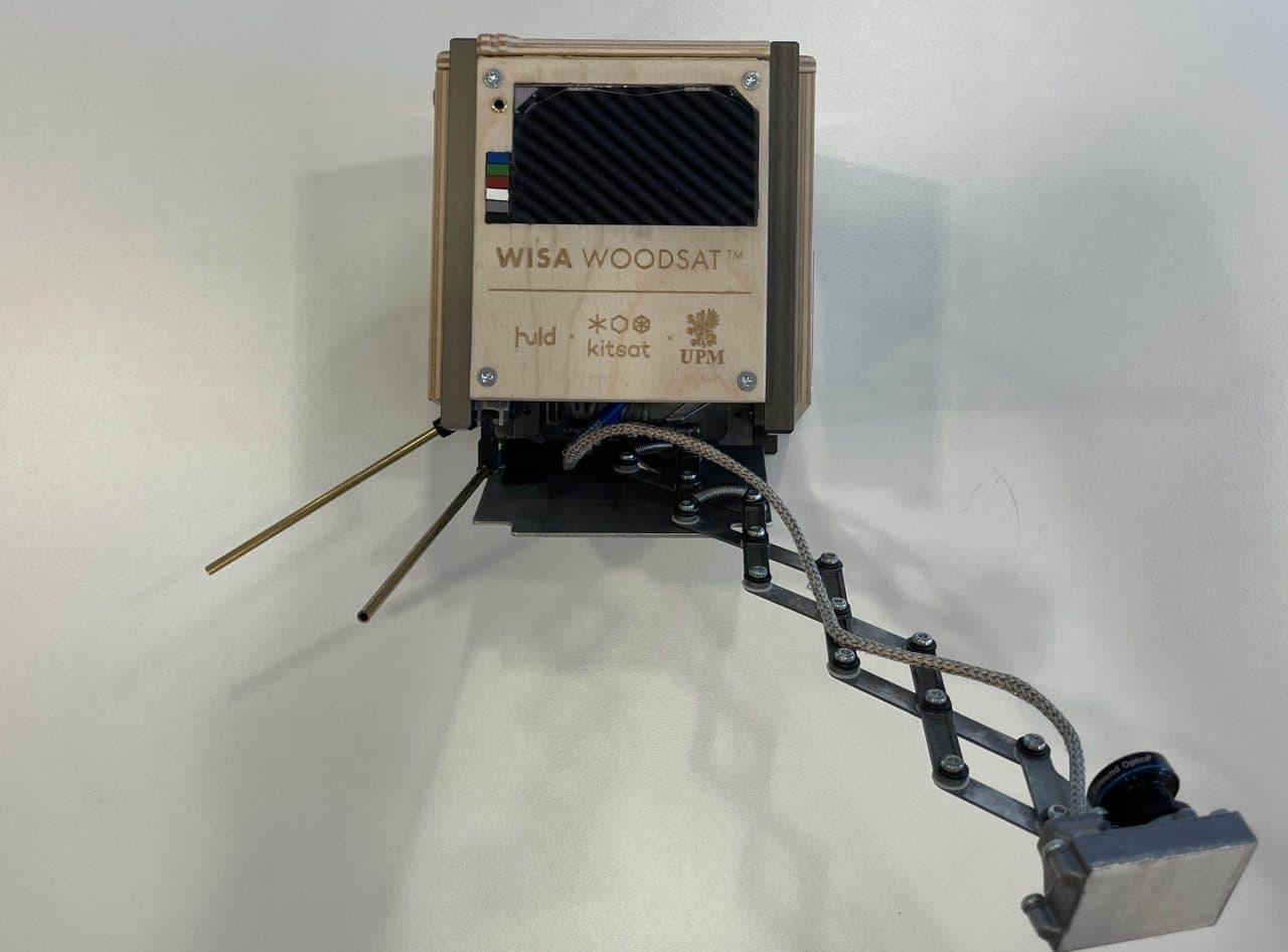 木でできた人工衛星が今冬宇宙へ 「WISA Woodsat」を打ち上げ予定