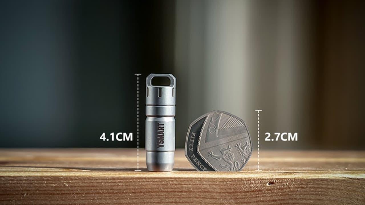 キーホルダー型ライト「YSMART Bullet」