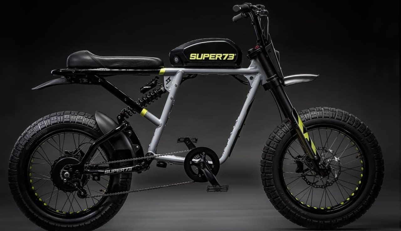 前後サスペンションを搭載した「SUPER73-RX」