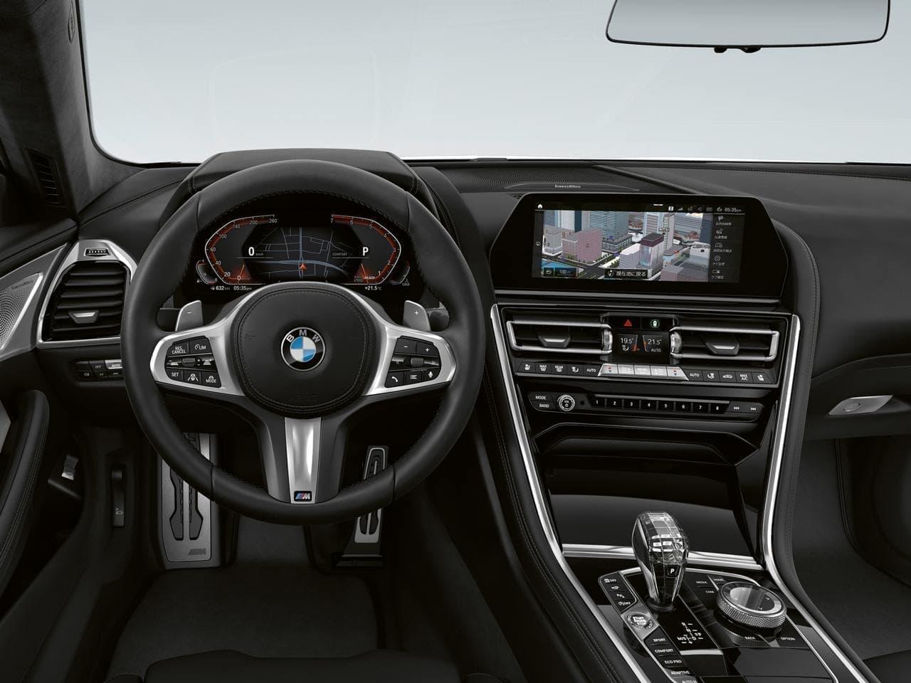 BMW 8シリーズに限定車「Frozen Black Edition」 内外装を漆黒で統一