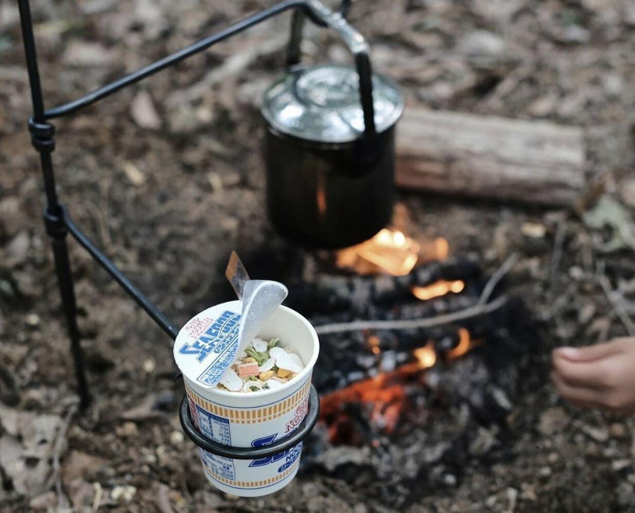 キャンプ用焚き火調理台「Pan Mini Fire Anchor」