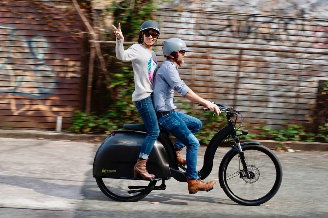 ベスパの元ディーラーが考えた電動カーゴバイク「Civilized Model 1」