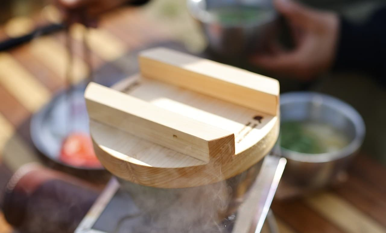キャンプ用調理器具「釜ヘッド」Makuakeに登場