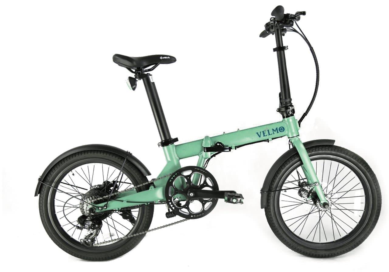 デスクの下に収納できる電動アシスト自転車ベルモ 2021年9月発送分の予約開始