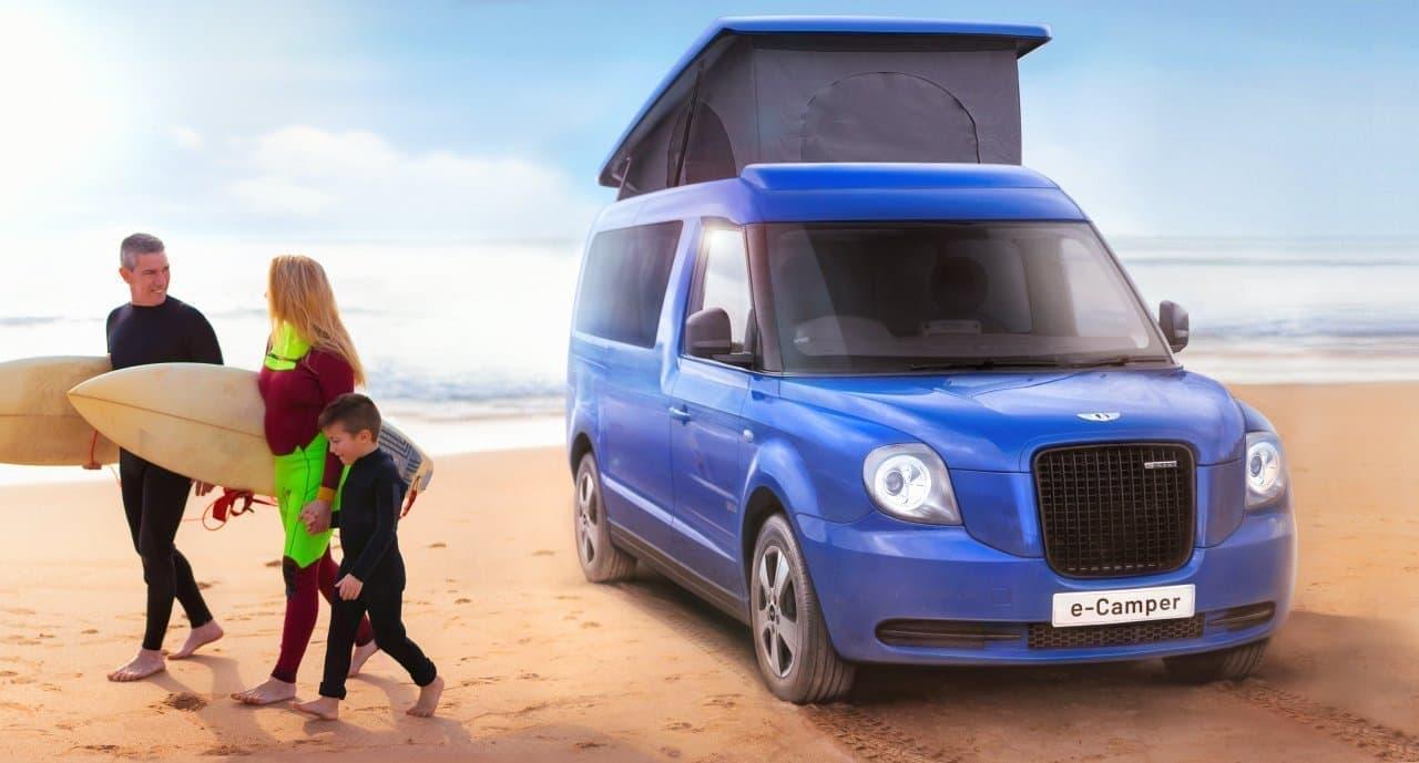 キャンピングカーにPHEVシステムを! LEVCが「e-Camper」を公開