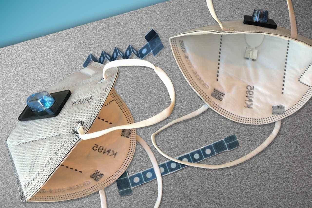 新型コロナウイルス検出機能付きのマスクをMITとハーバードが開発 - PCR検査レベルの精度と抗原検査レベルの検査速度を実現