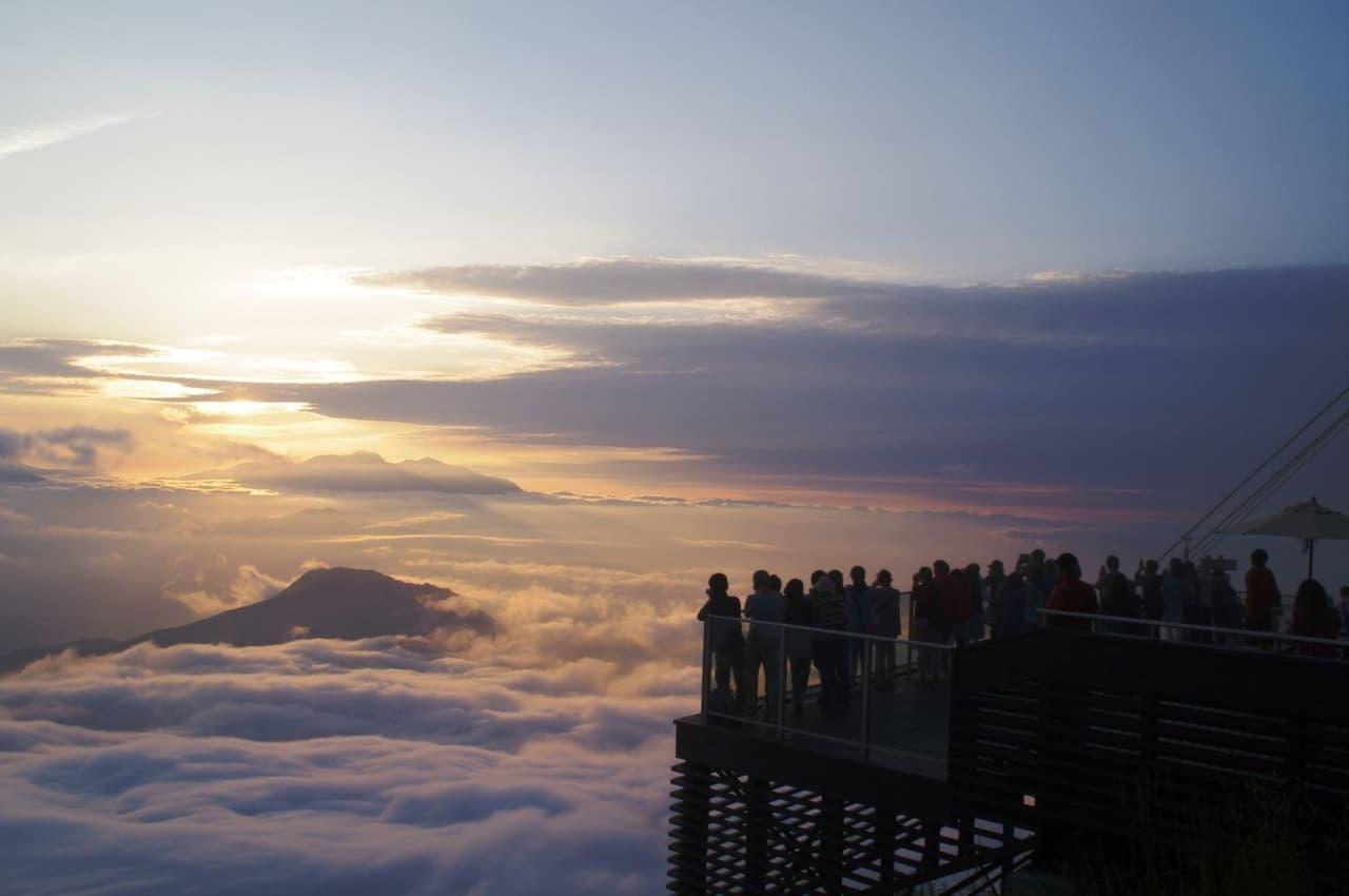 ゲレンデでグランピング 雲海も楽しめるかもしれない「SORA GLAMPING RESORT」2021年7月24日OPEN