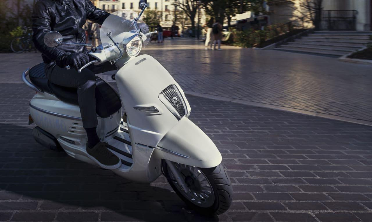 高速道路を走れる150ccモデル復活! プジョー「ジャンゴ」に2021年後期モデル