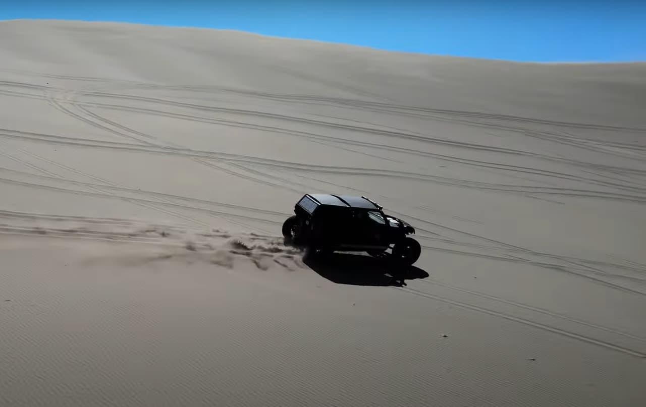 最高出力400馬力!砂漠も走れるオフロード四駆Vanderhall「Brawley」予約受付開始