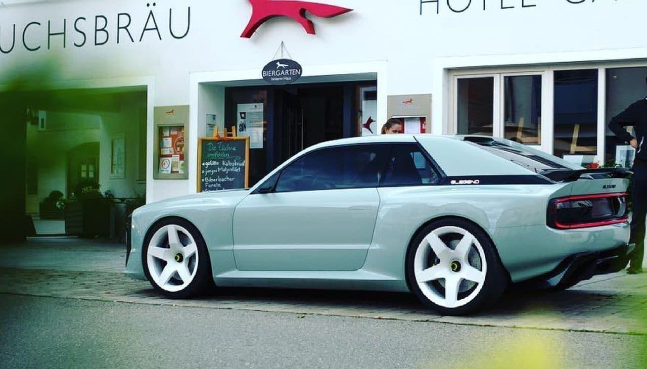 816馬力の電動スーパーカーELEGEND「EL1」 - アウディ「クワトロ」に敬意を表すデザイン
