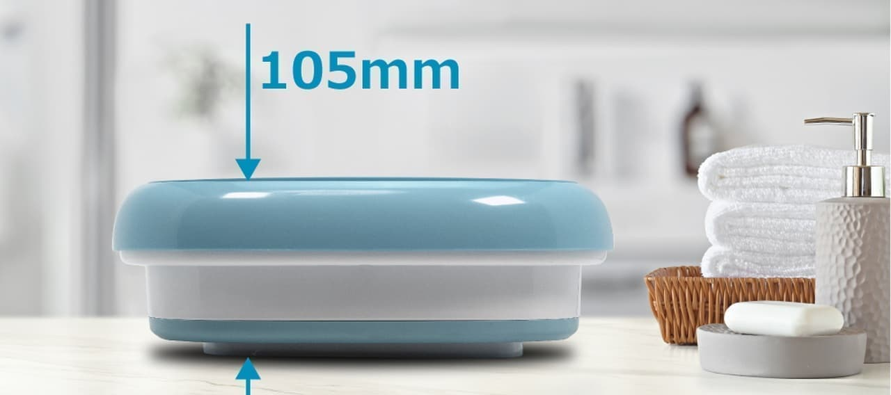 1人暮らし用洗濯機 ROOMMATE 「折りたたみ式ポータブル洗濯機 mush」