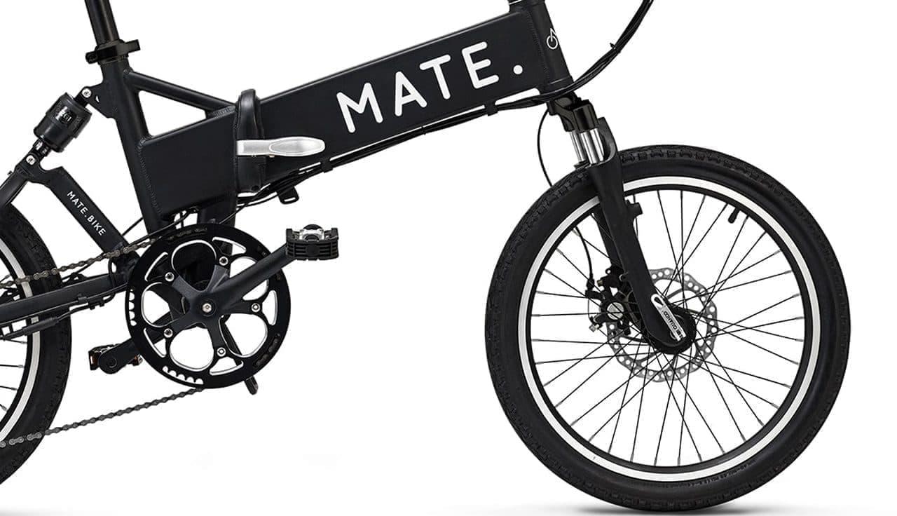 理想の通勤用電アシ「MATE CITY」発売 - 1.5インチ幅タイヤで小回り性能をアップ
