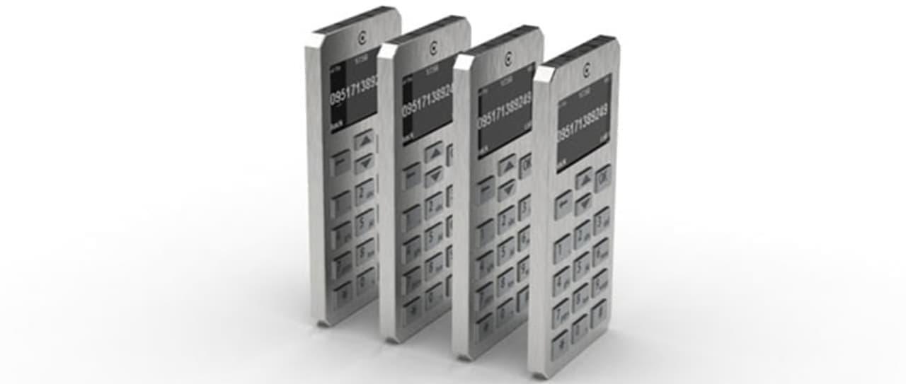 秘密が漏れない携帯電話Indiegogoに登場