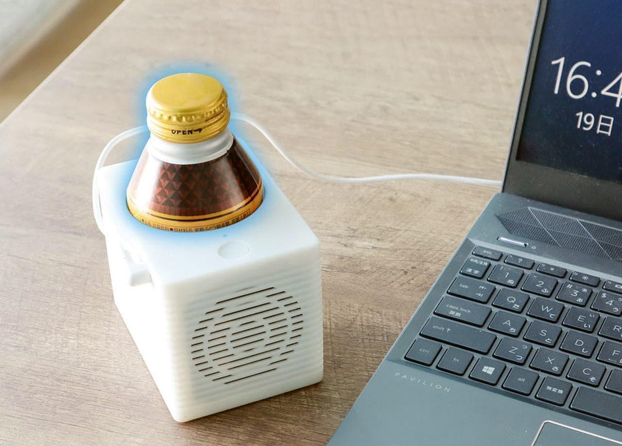 オフィスで使える「USB CanCooler」発売