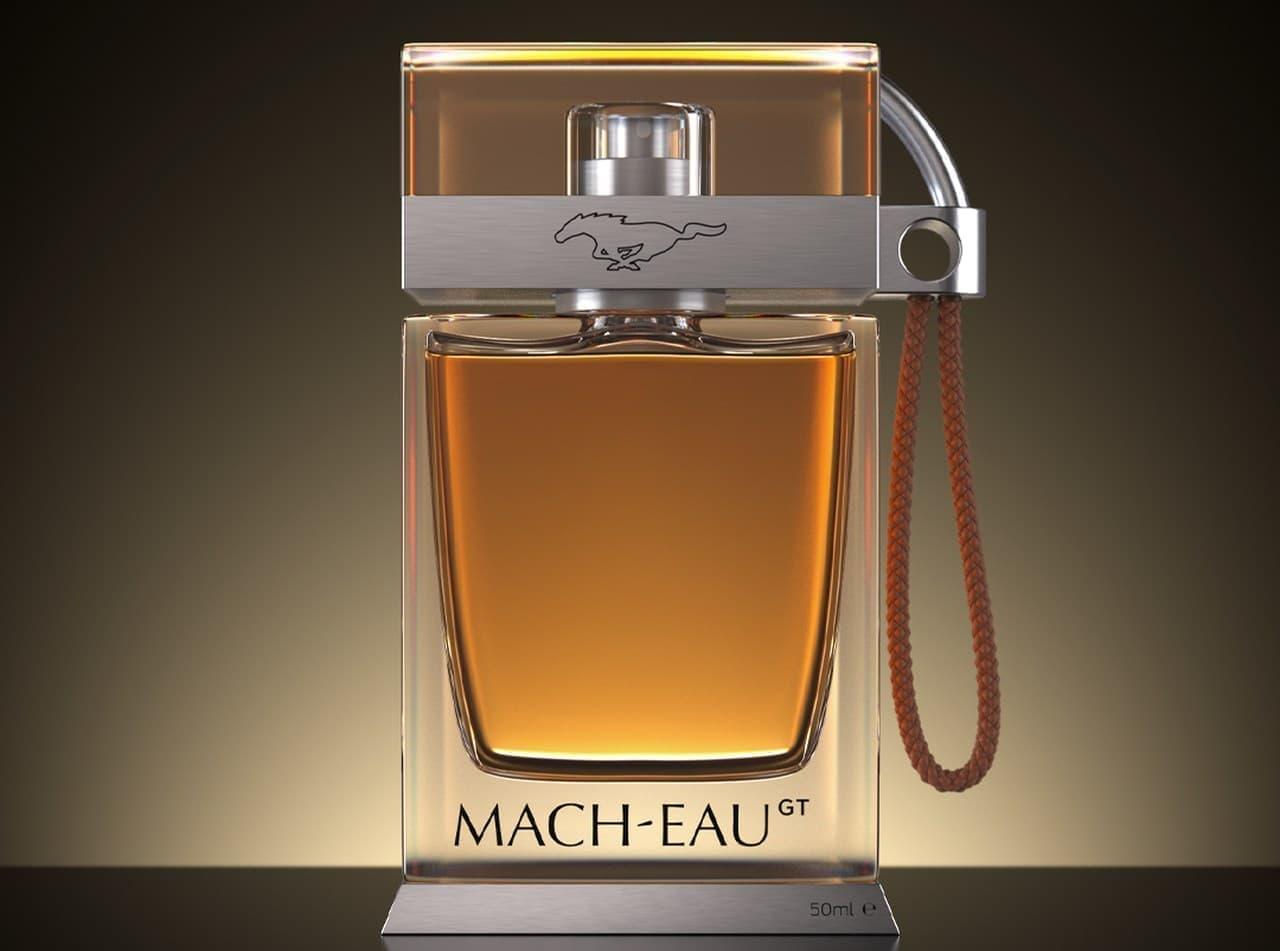 フォードが「マスタング マッハ-E GT」オーナー向けにガソリンの香りの香水「Mach-Eau」を開発