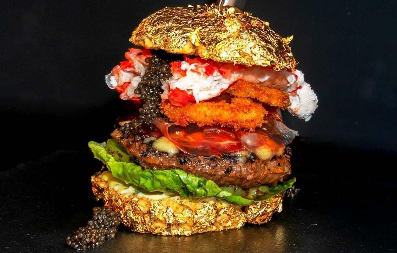 世界一高価なハンバーガー「ゴールデンボーイ」 価格は約65万円