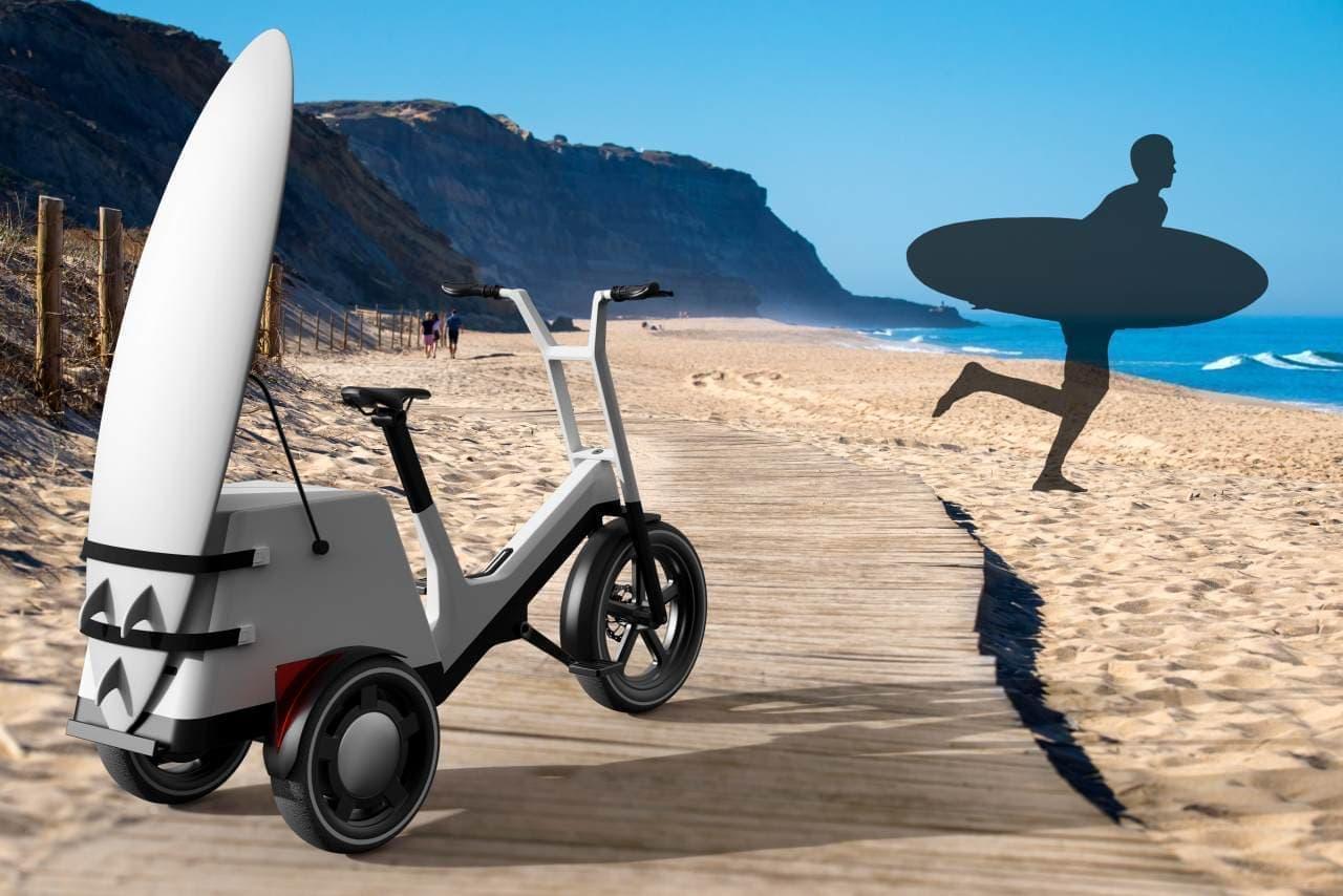 BMWが電動カーゴバイク&電動キックスクーターのコンセプトモデル「DYNAMIC CARGO」「CLEVER COMMUTE」を発表