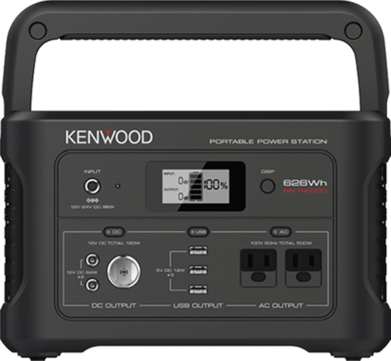 KENWOODのポータブル電源「BN-RK600」