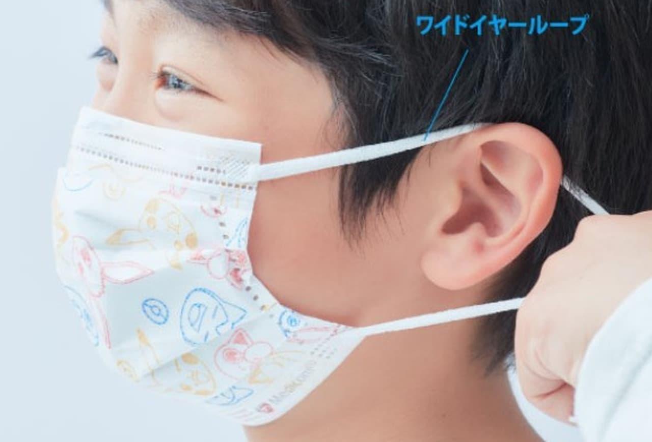 「ポケットモンスターキッズマスク」発売! 3層構造のサージカルマスク