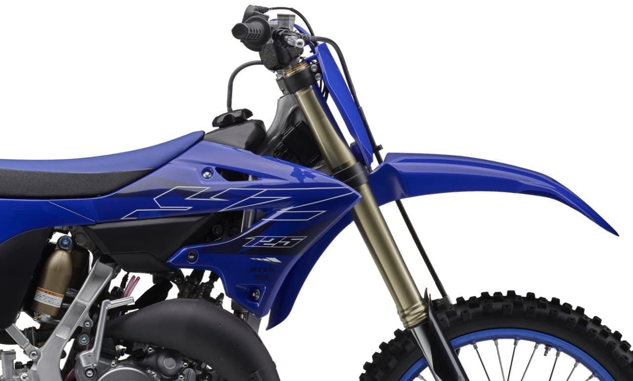 ヤマハ モトクロスバイク「YZ125」を17年ぶりにフルモデルチェンジ