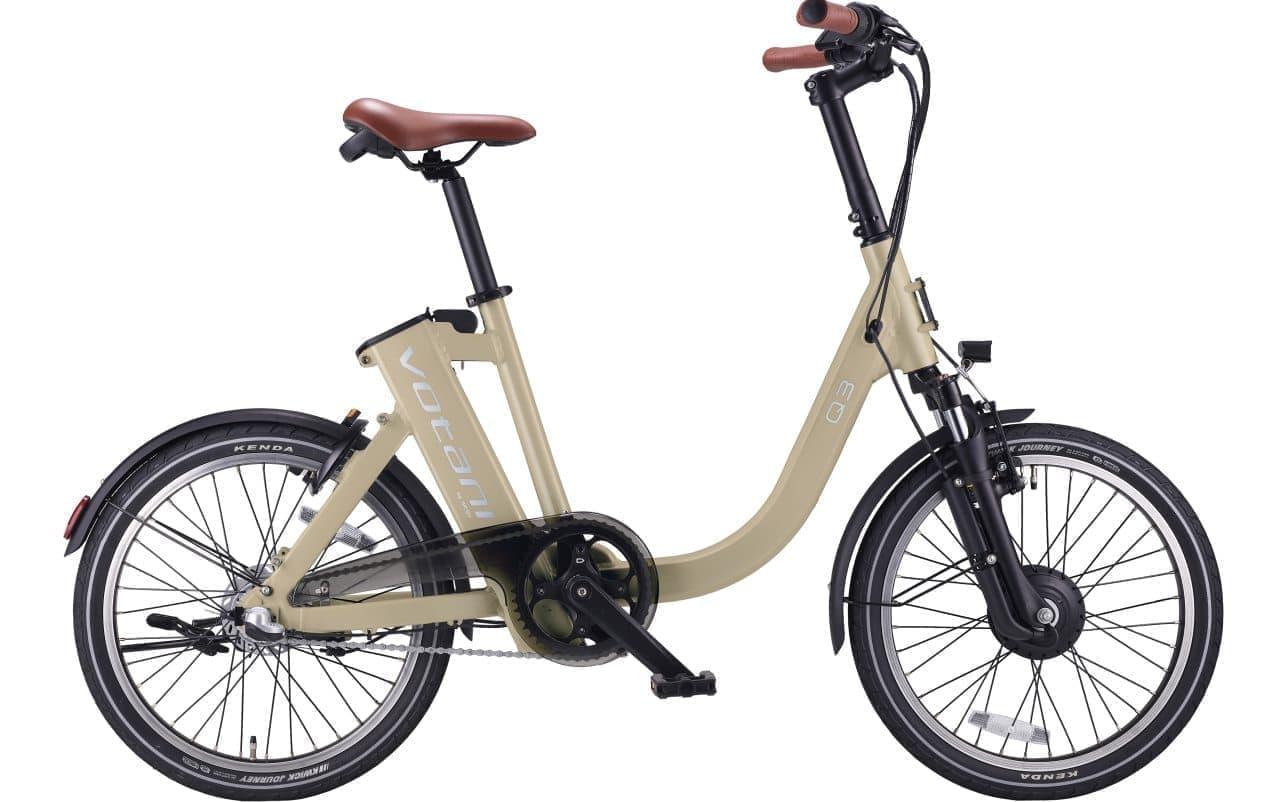 e-BikeブランドBESVのVotaniシリーズに新色追加 H3 メタリックグリーンとQ3 ミルキーベージュ
