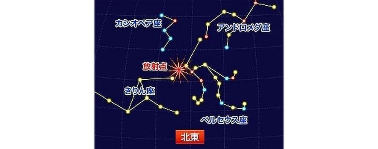 8月12日はペルセウス座流星群 ― ウェザーニューズが全国の天気傾向を発表