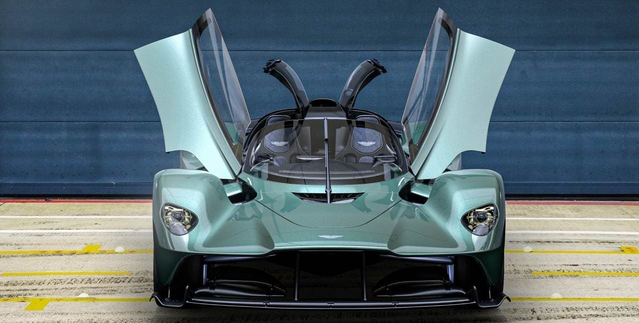 アストンマーティン「Valkyrie Spider」を発表 アストンマーティン史上最速のオープントップ・モデル