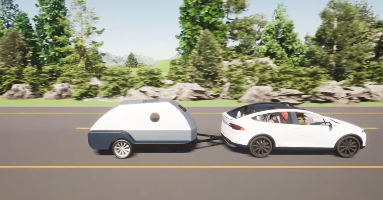 電気自動車に充電できるキャンピングトレーラー Colorado Teardrops「BOULDER」