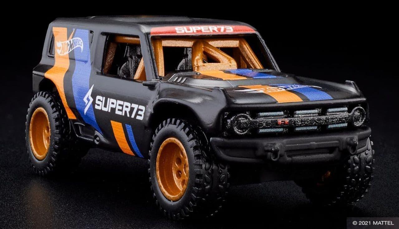 電動バイク「Super 73」に限定デザインの「Hot Wheels x SUPER73-RX」