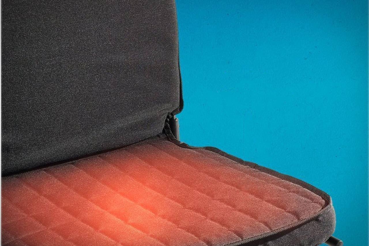 冷たいベンチをほっかほかに コールマンの温熱シート「OneSource Heated Stadium Seat」